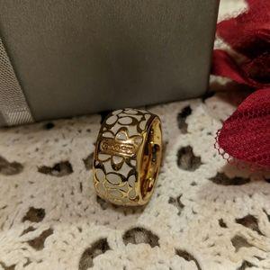🌵Coach ring